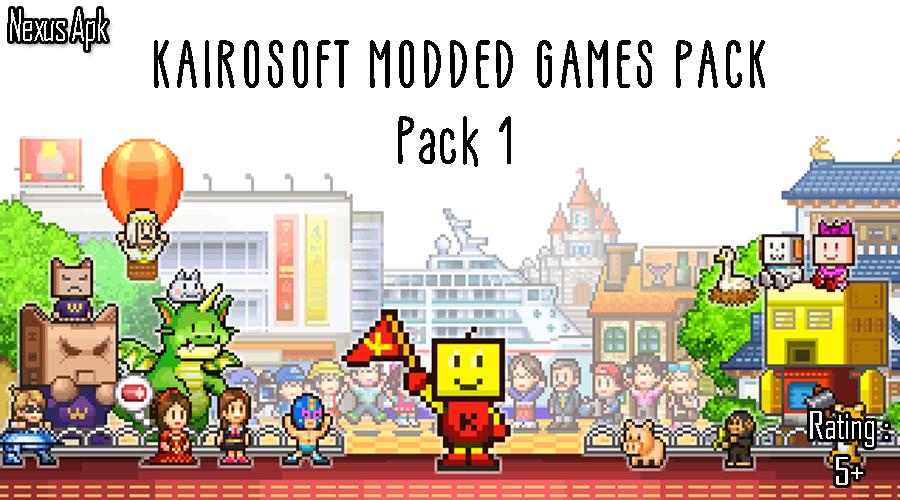 Android] | Kairosoft Modded Games Pack (Pack 1) | Nexuspack